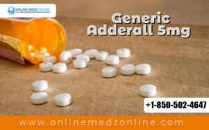 Generic Adderall 5mg is Prescribed To Treat ADHD, and Narcolepsy