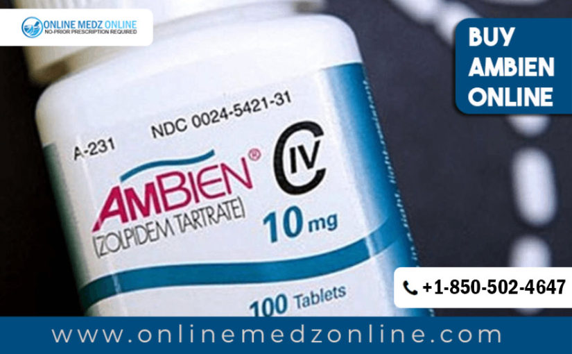 Buy Ambien Online To Treat Insomnia in the United States.