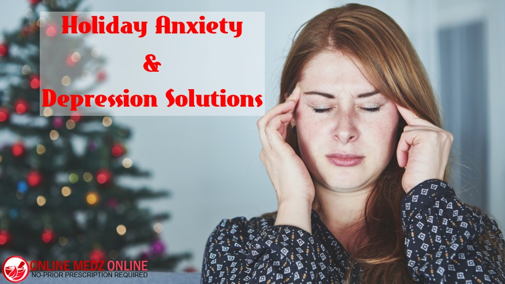 Holiday Anxiety & Depression Solutions