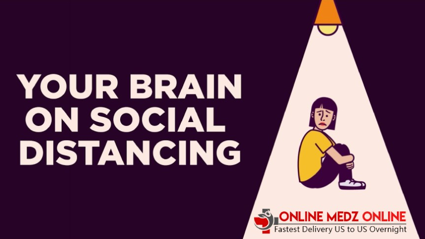 Social Distacing in Brain